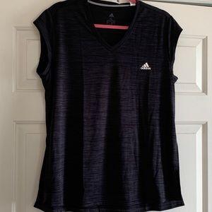 NWT Adidas V Neck Tee Shirt Size XL